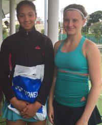 Caoimhe Duffy Niblock (winner)and Sophia Derivan(R up)
