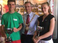 Belfast ITF Winners- Peter Corrie & Anna Bowtell